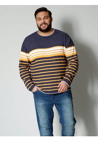Men Plus Megztinis iš grynos Baumwolle
