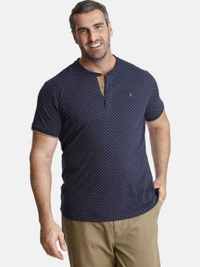 Charles Colby T-Shirt »DUKE COLIN« in minimal Rautendesign