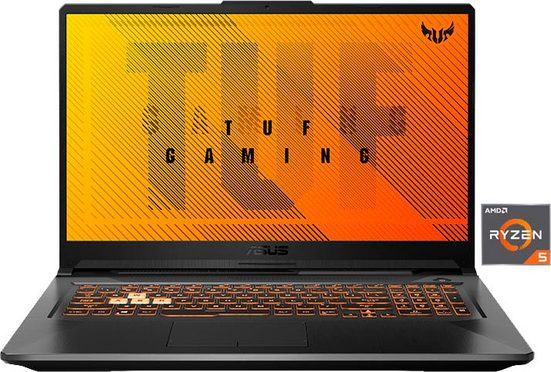 Asus FA706IH-H7175T Gaming-Notebook (43,94 cm/17,3 Zoll, AMD Ryzen 5, GTX 1650, 512 GB SSD)