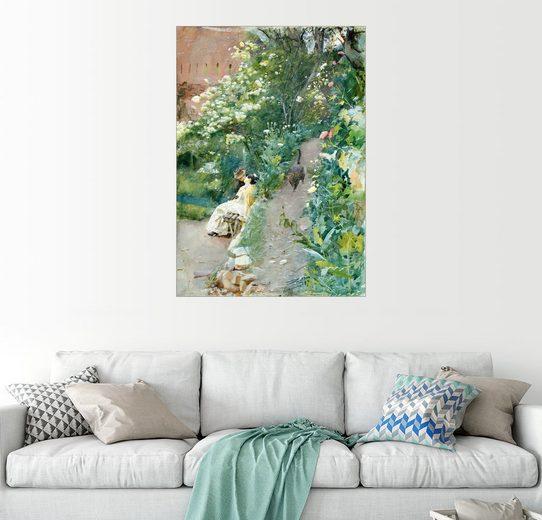 Posterlounge Wandbild - Anders Leonard Zorn »Im Garten der Alhambra«