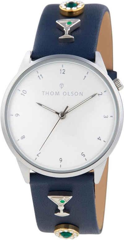 THOM OLSON Quarzuhr »DAY DREAM, CBTO007«, (Set, 7-tlg)