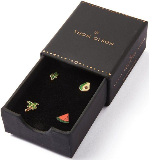 THOM OLSON Pin-Set »CHARM, CBTO026« (Set, 4-tlg., inkl. Etui) | Accessoires > Etuis | THOM OLSON