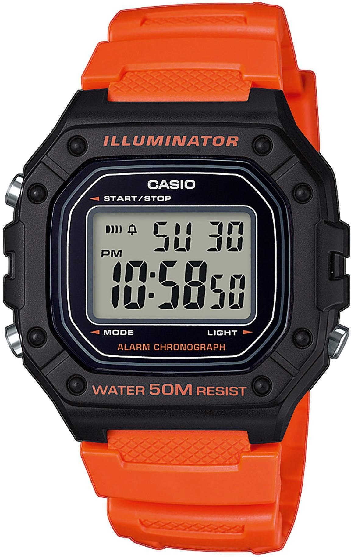 Casio Collection Chronograph »W-218H-4B2VEF«