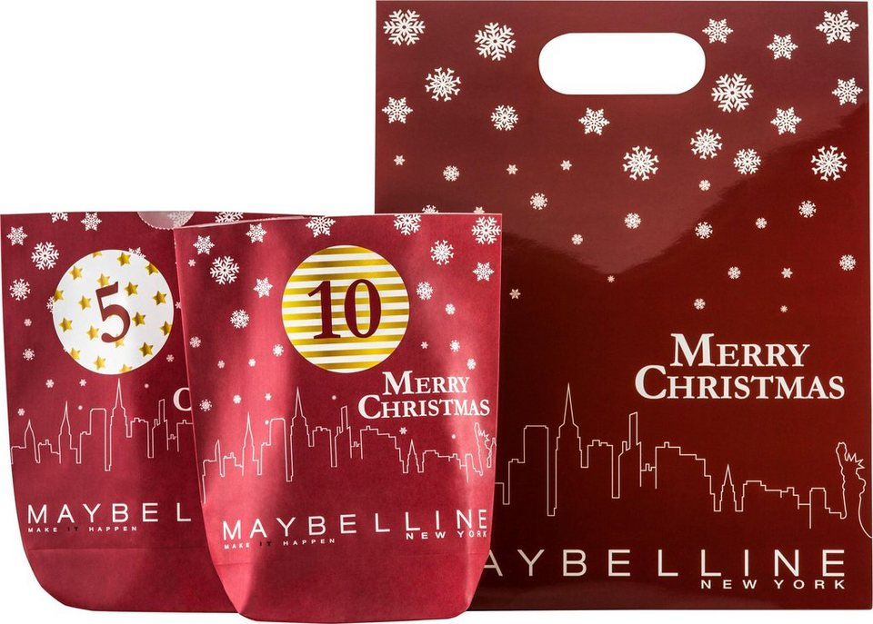 maybelline do it yourself adventskalender