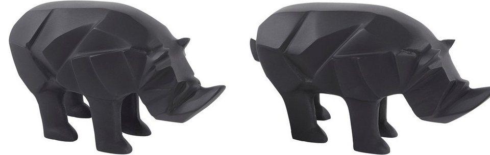 lambert deko figur rhino online kaufen otto. Black Bedroom Furniture Sets. Home Design Ideas
