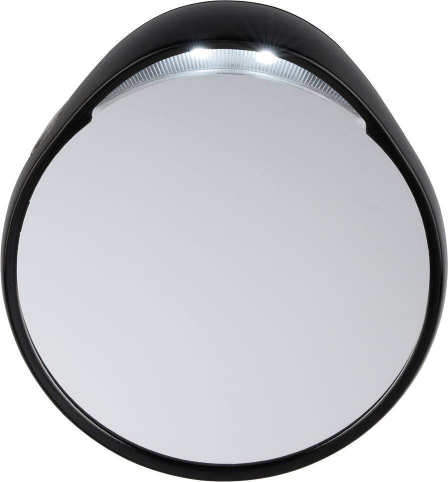 Tweezerman, »Vergrößerungsspiegel«, 10-fach mit Beleuchtung, Kosmetikspiegel