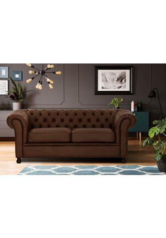 HOME AFFAIRE Trivietė sofa »Chesterfield Home«
