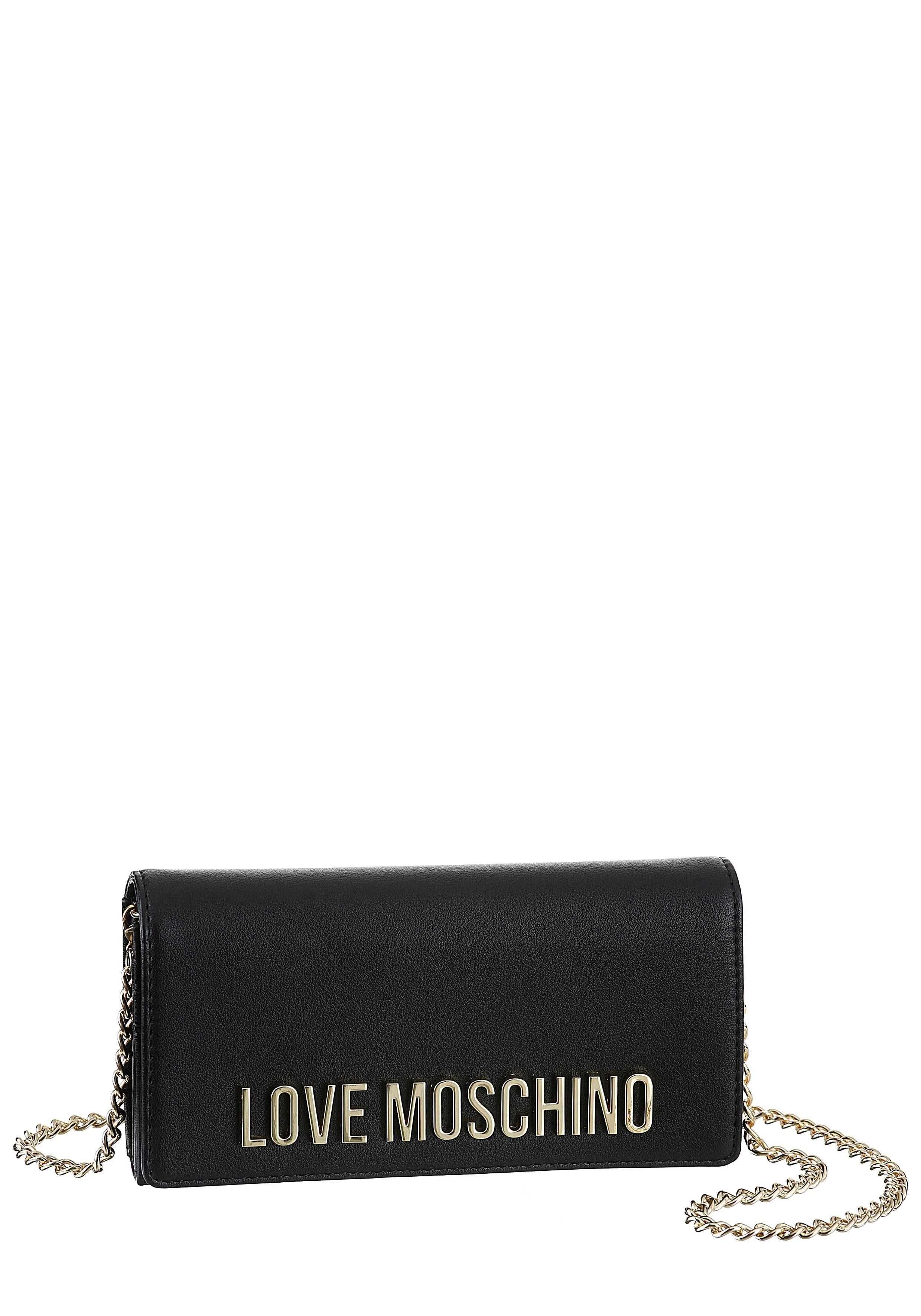 LOVE MOSCHINO Mini Bag, ohne Umhängekette auch als Geldbörse nutzbar