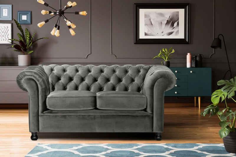 Home affaire 2-Sitzer »Chesterfield Home«, mit edler Knopfheftung und typischen Armlehnen