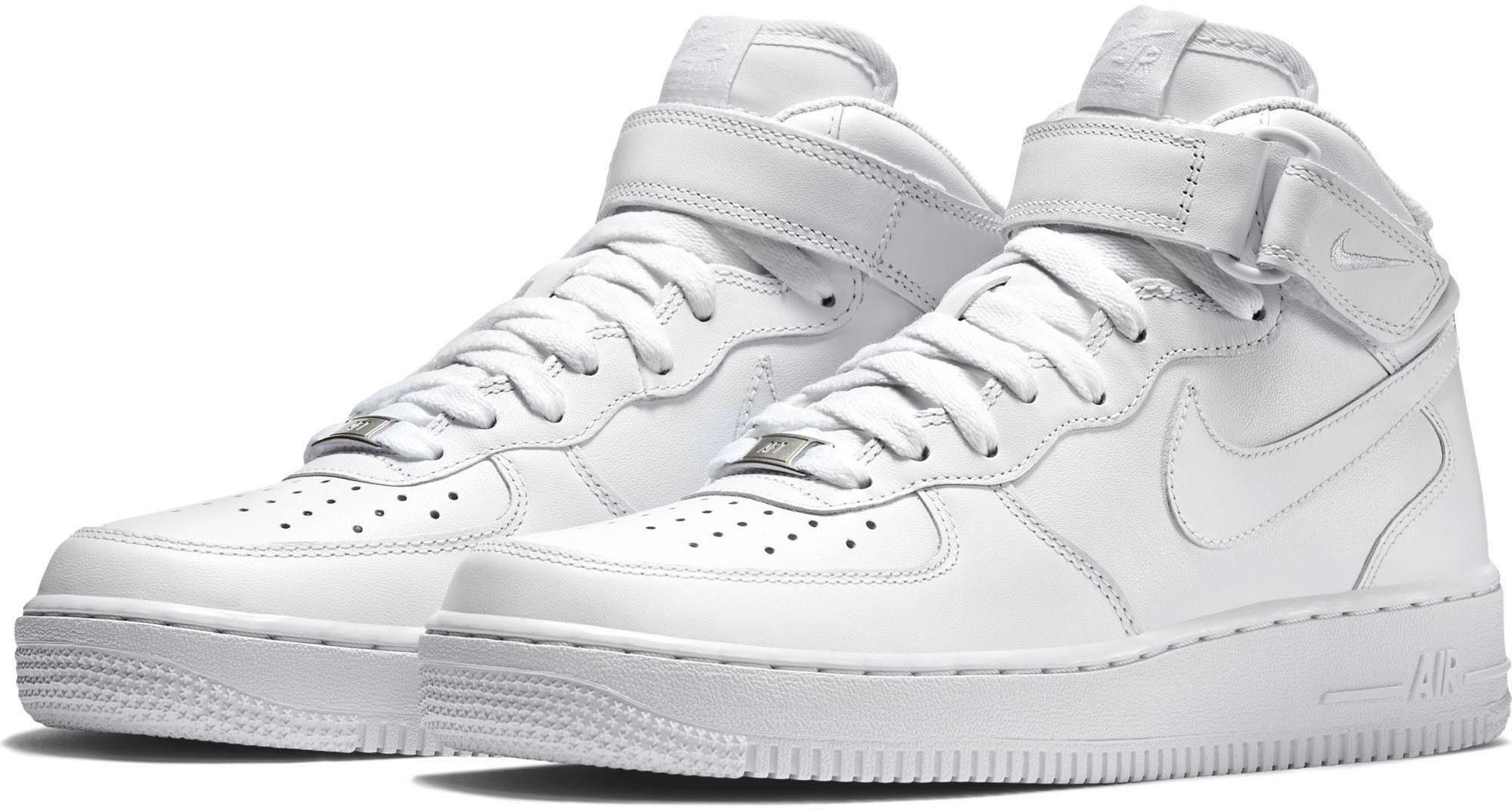 Nike Air Force 1 Mid Lässige Schuhe Für Herren Basketball