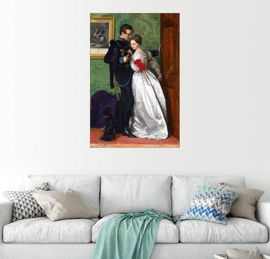 Posterlounge Wandbild - Sir John Everett Millais »Der schwarze Braunschweiger«