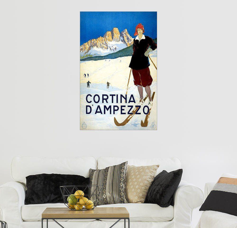 Posterlounge Wandbild »Cortina d'Ampezzo«