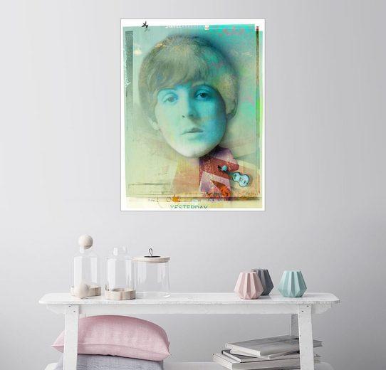 Posterlounge Wandbild - Daniel Matzenbacher »paul mccartney«