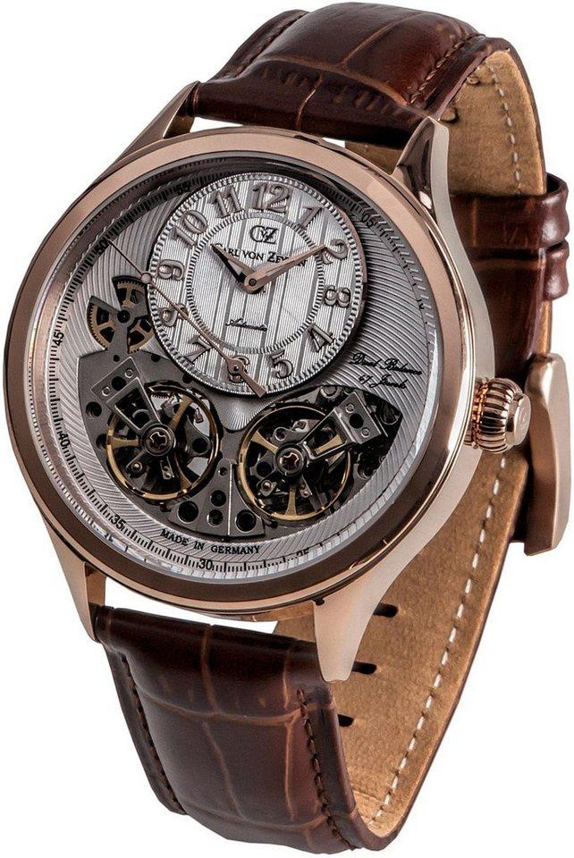 Carl von Zeyten Automatikuhr »Gernsbach, CVZ0055RWH« | Uhren | Braun | Carl von Zeyten