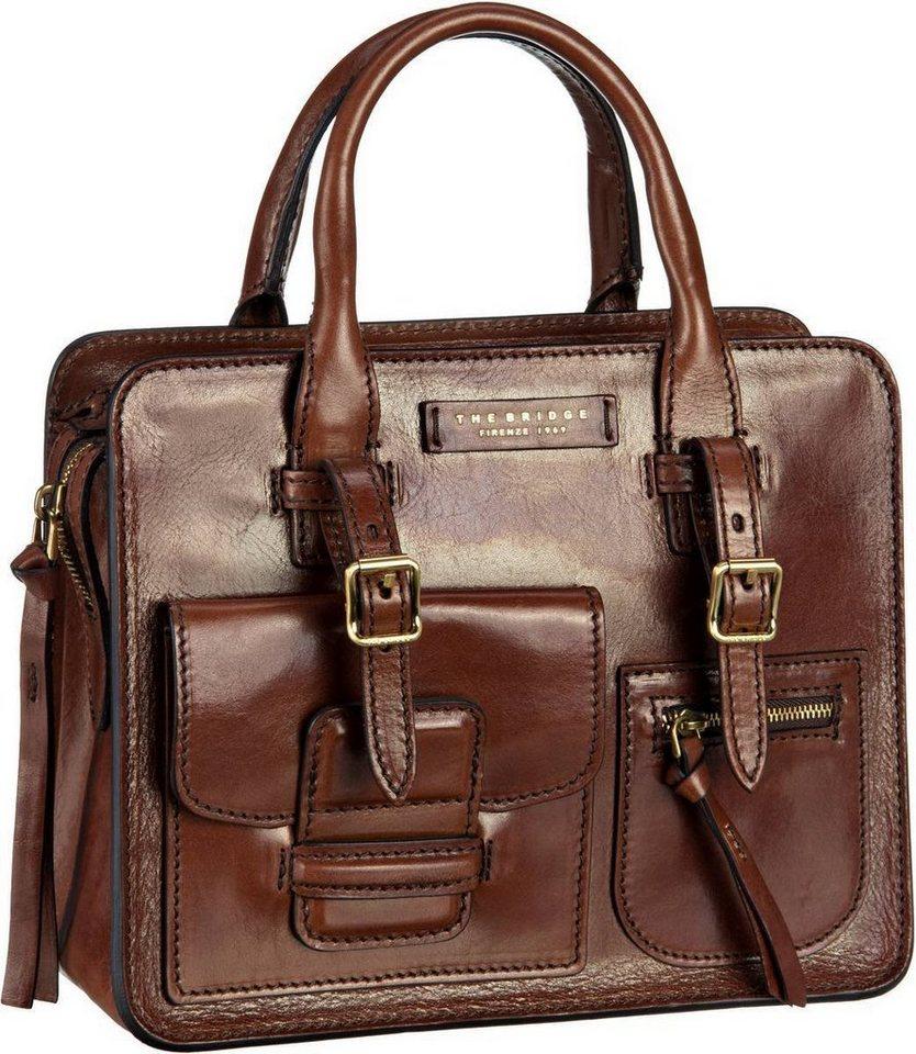 Damen THE BRIDGE  Handtasche Cortona Shopper 2928 braun | 08033748437182