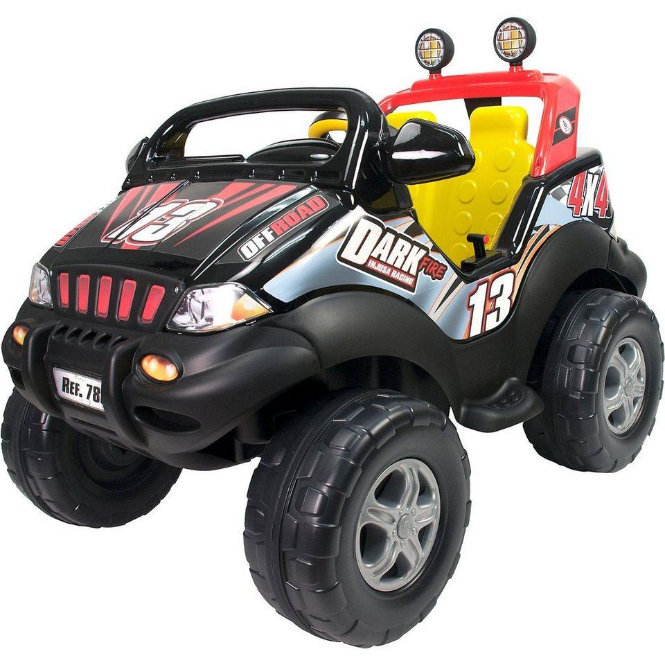 Verbazingwekkend INJUSA Elektroauto Dark Fire 2-Sitzer, schwarz | OTTO KP-46
