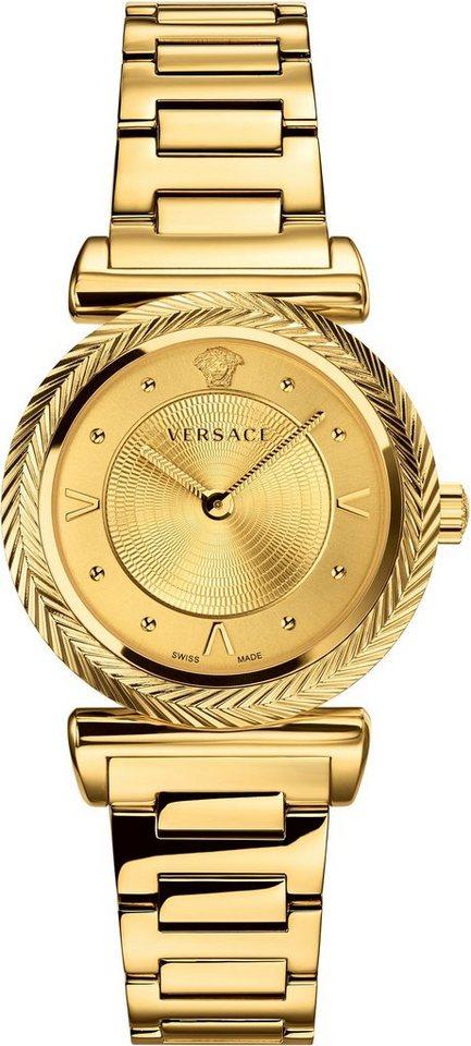 Versace Schweizer Uhr »V-MOTIF, VERE00618« | Uhren > Schweizer Uhren | Goldfarben | Versace