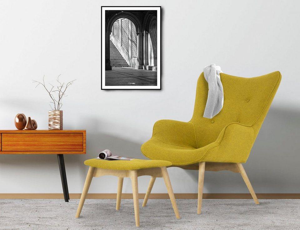 home affaire sessel ducon mit und ohne hocker otto. Black Bedroom Furniture Sets. Home Design Ideas