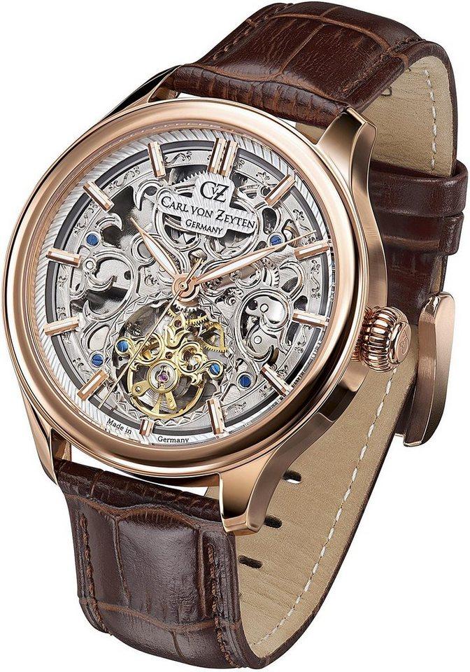 Carl von Zeyten Automatikuhr »St. Georgen, CVZ0014RSL« | Uhren > Automatikuhren | Braun | Carl von Zeyten