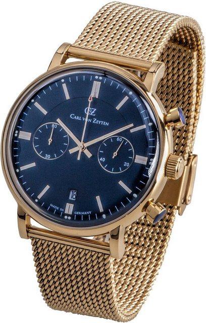 Carl von Zeyten Automatikuhr »Bühlot, CVZ0037GBLM« | Uhren > Automatikuhren | Goldfarben | Carl von Zeyten