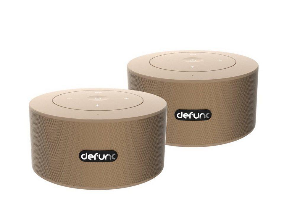 defunc bluetooth lautsprecher d2087 duo mobile stereo 2er set gold online kaufen otto. Black Bedroom Furniture Sets. Home Design Ideas