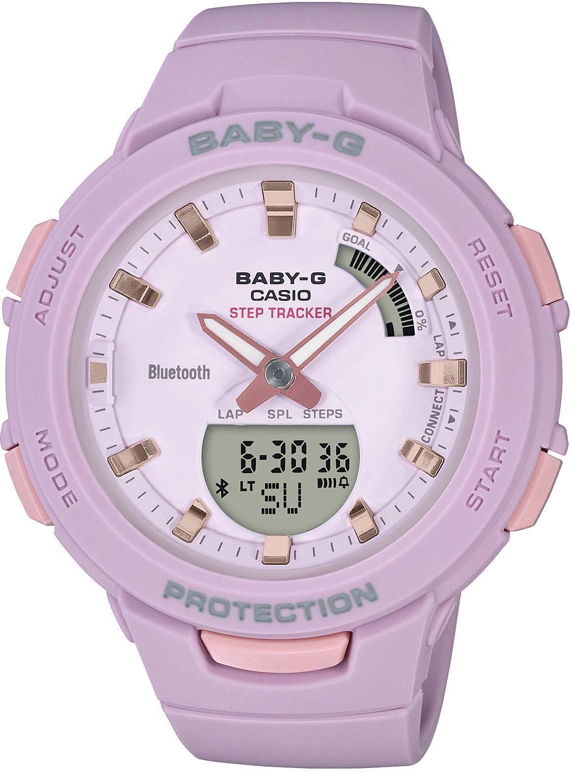 CASIO BABY-G Chronograph »BSA-B100-4A2ER«