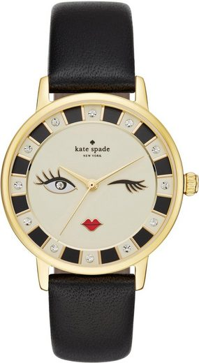 KATE SPADE NEW YORK Quarzuhr »METRO, KSW1052«