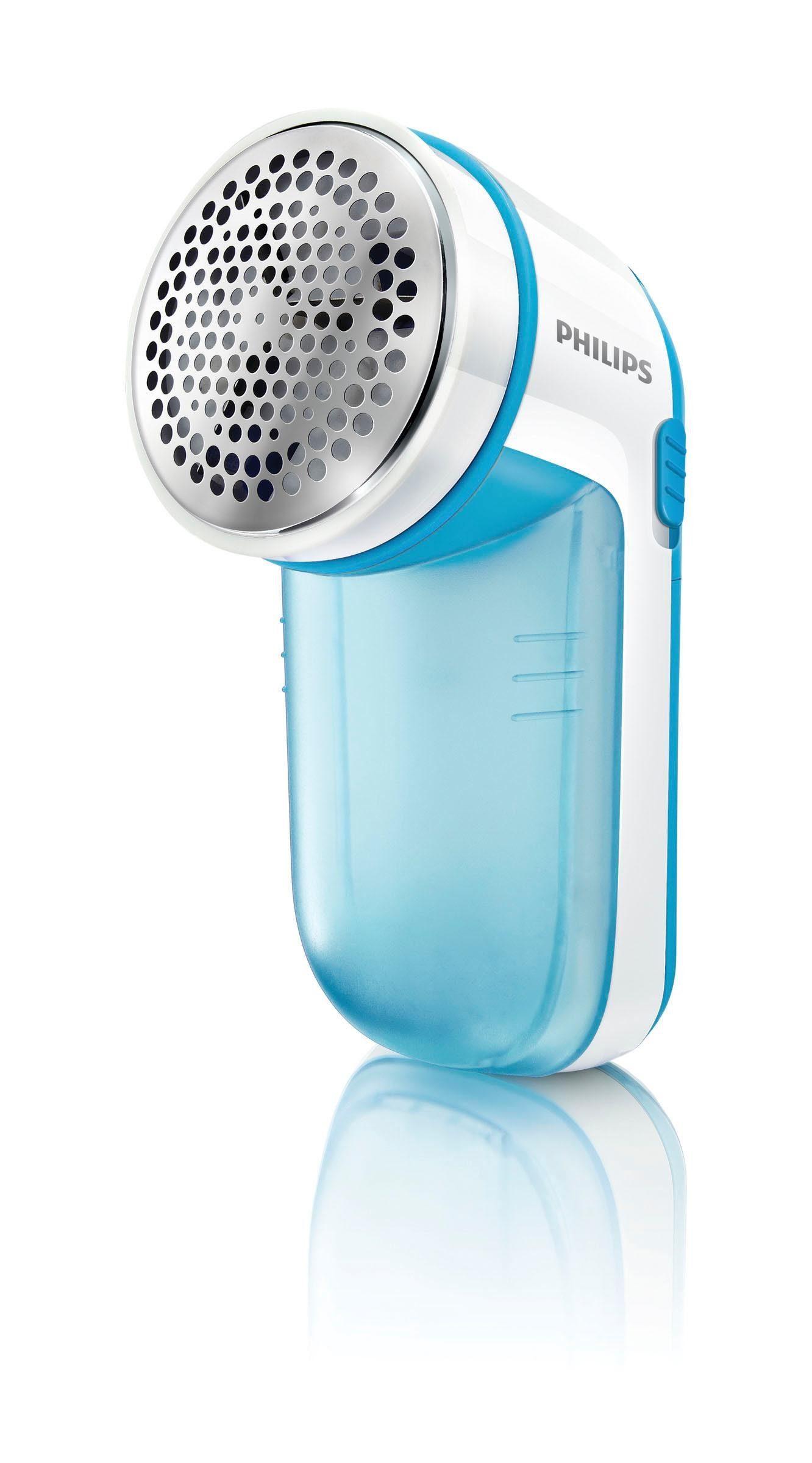 Philips Fusselrasierer GC026/00 batteriebetrieben, 2 Höheneinstellungen, türkis