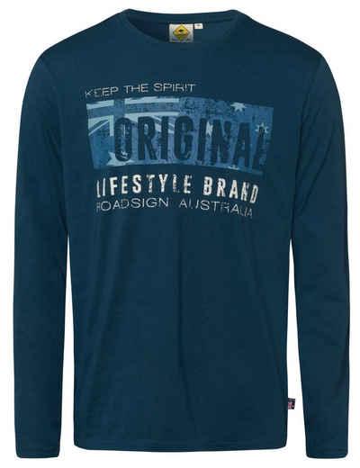 ROADSIGN australia Langarmshirt »Original Lifestyle« (1-tlg) mit Marken-Print