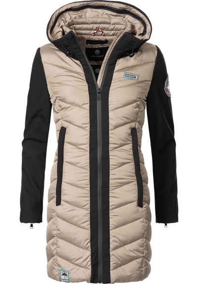 3b55ca54593b Navahoo Steppmantel »Flussperle« sportliche Damen Winter Steppjacke