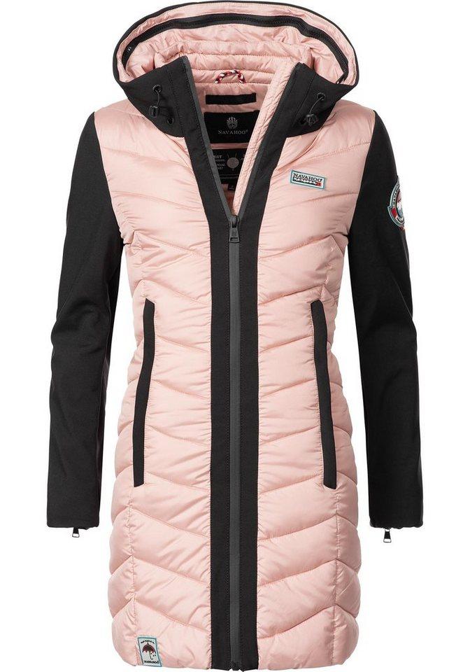 online store b6af4 1f978 Navahoo Steppmantel »Flussperle« sportliche Damen Winter Steppjacke online  kaufen | OTTO