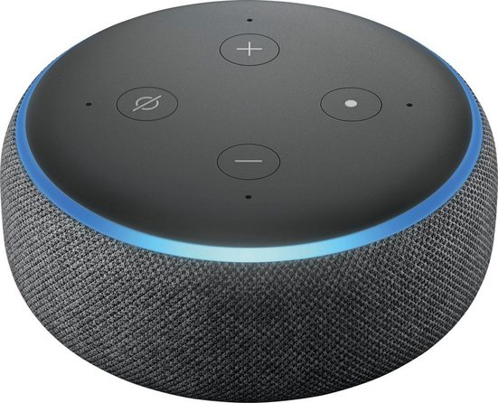 Echo Alexa Echo Dot (3. Generation) Mono Smart Speaker (WLAN (WiFi), Bluetooth)