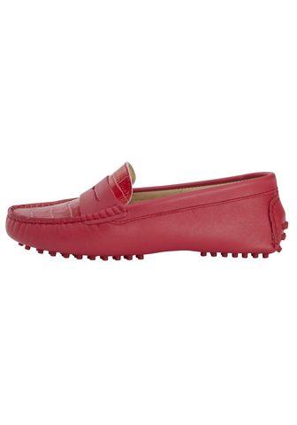 HEINE Mokasinų tipo batai su Blatt im Animal...