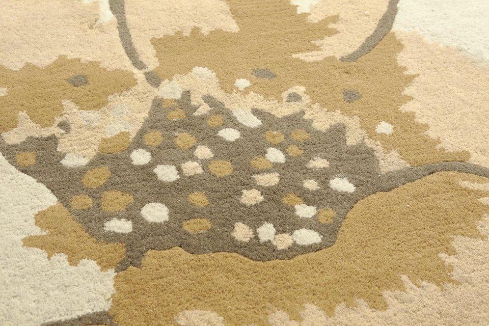 7e18eac71db57f heine home Hochflorteppich handgearbeitet kaufen | OTTO