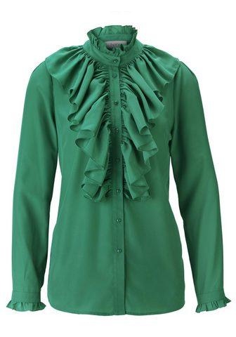 HEINE STYLE блуза с с воланами