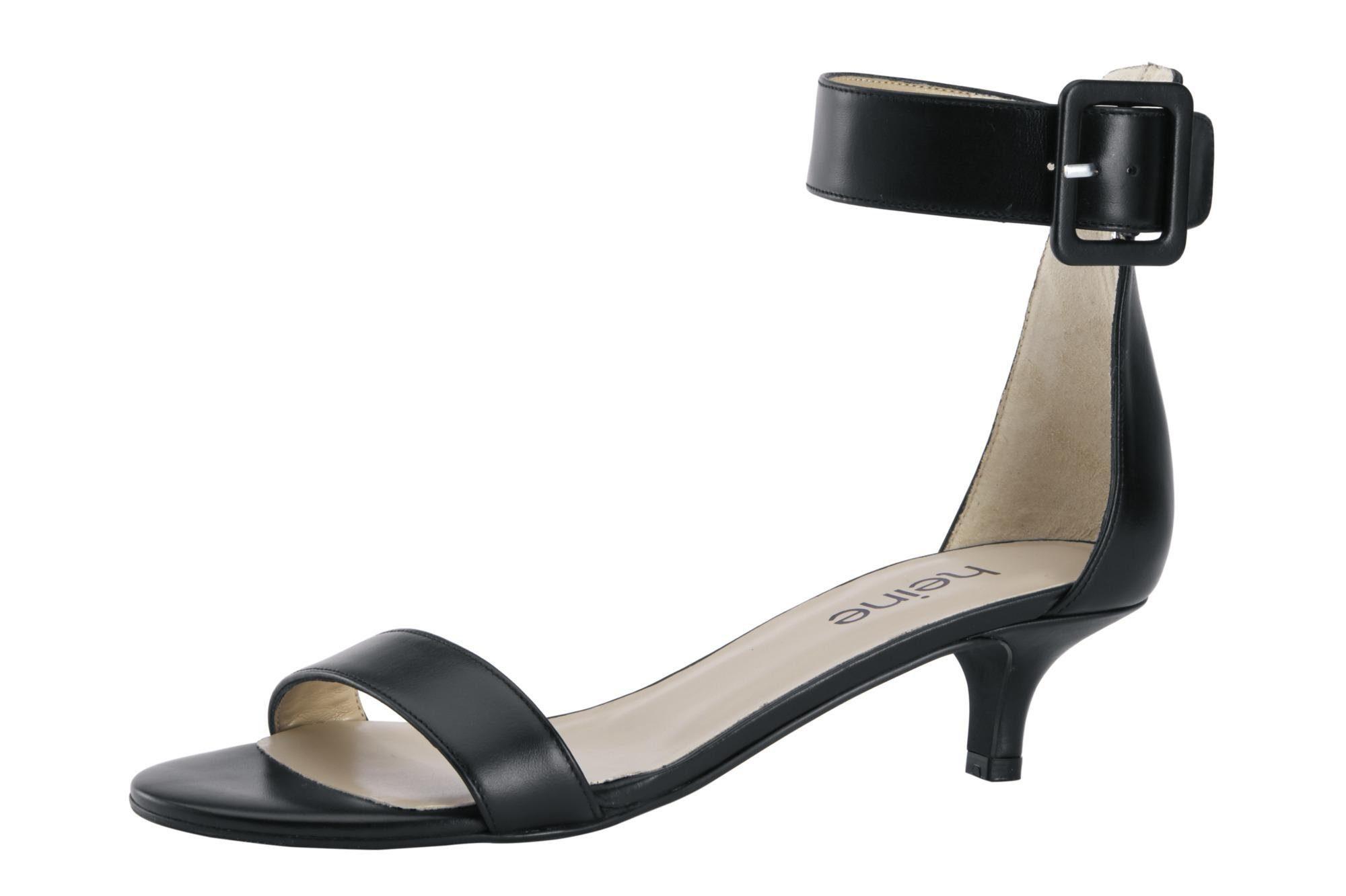 Heine Sandalette mit farblich passender Schließe