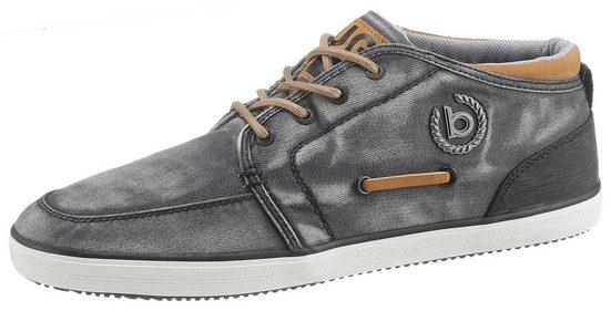 bugatti »Alfa« Sneaker mit stylischem Ferseneinsatz