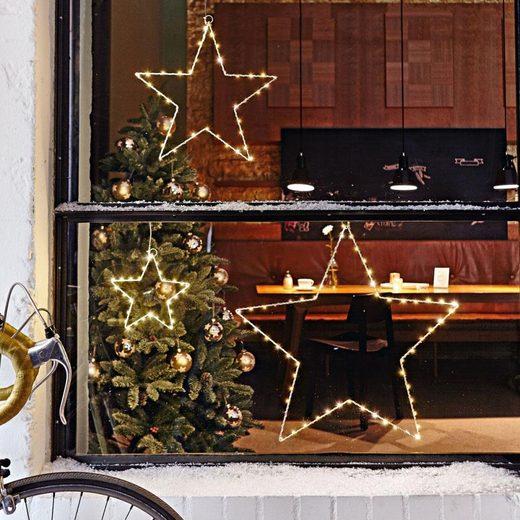 LED Stern »Blanche«, Deko-Sterne-Set, 3-tlg.