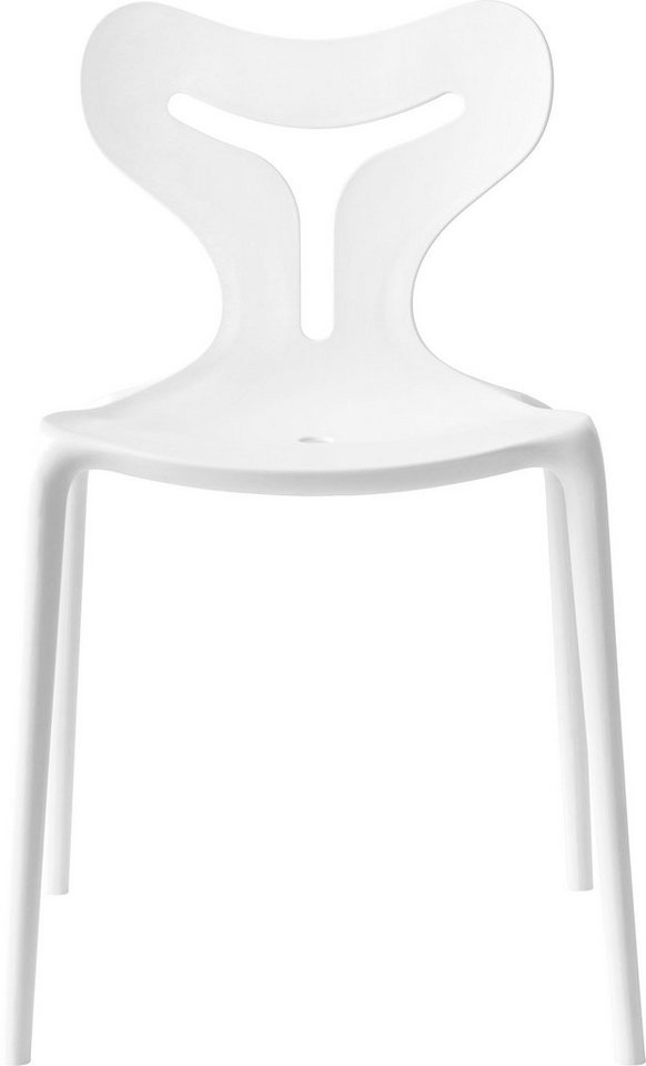 connubia by calligaris Stapelstühle »Area 51 CB/1042«, 4 Stck ...