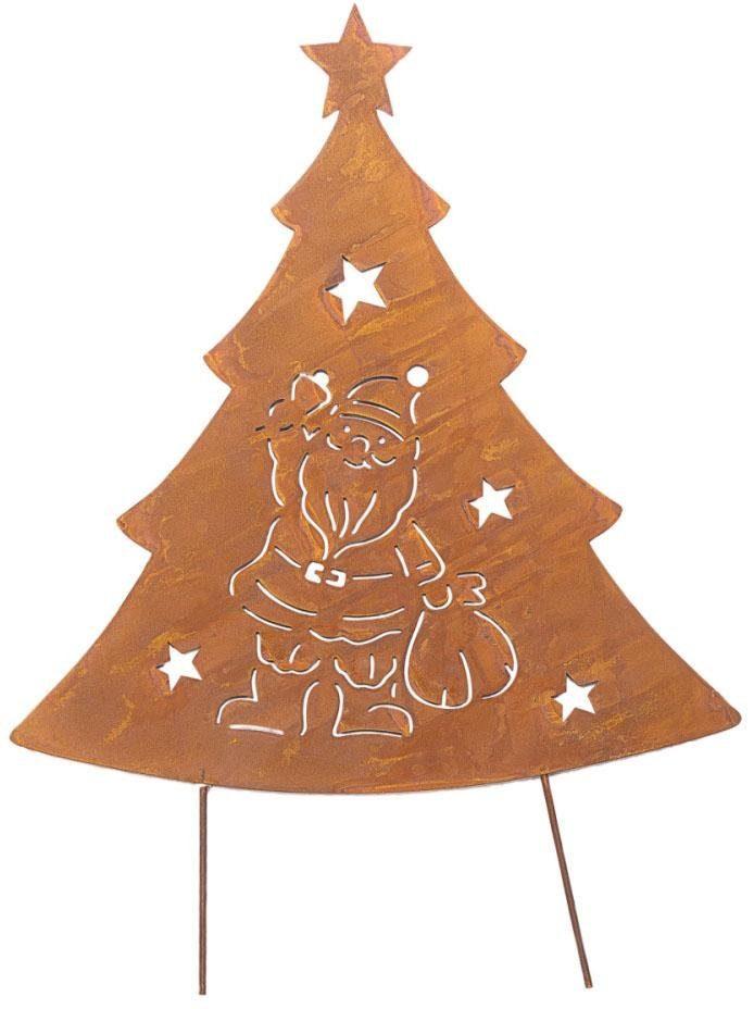 XXL Garten-Stecker, »Weihnachtsmann«