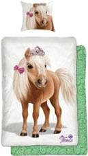 Kinderbettwäsche »Tiara Pony«, Tiaras Animal Club, mit Pony Motiv