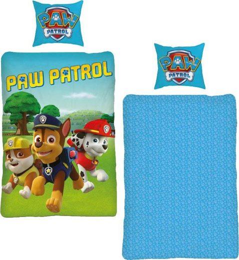 Kinderbettwäsche »Paw Patrol Dogs«, PAW PATROL, mit Hunde Motiven