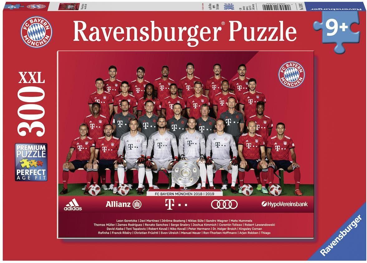 Ravensburger Puzzle, 300 Teile, »FC Bayern Saison 18/19«