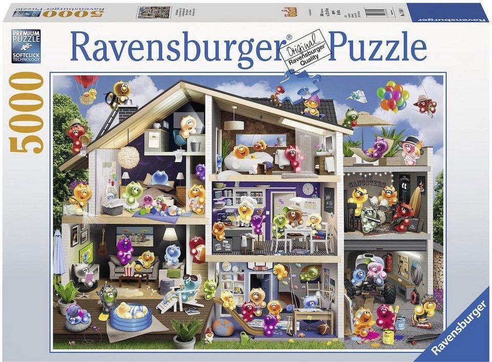 ravensburger puzzle 5000 teile gelini puppenhaus. Black Bedroom Furniture Sets. Home Design Ideas