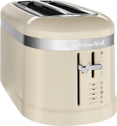 KitchenAid Toaster 5KMT5115EAC, 2 lange Schlitze, für 4 Scheiben, 1600 W, Design 4-Scheiben Langschlitz-Toaster
