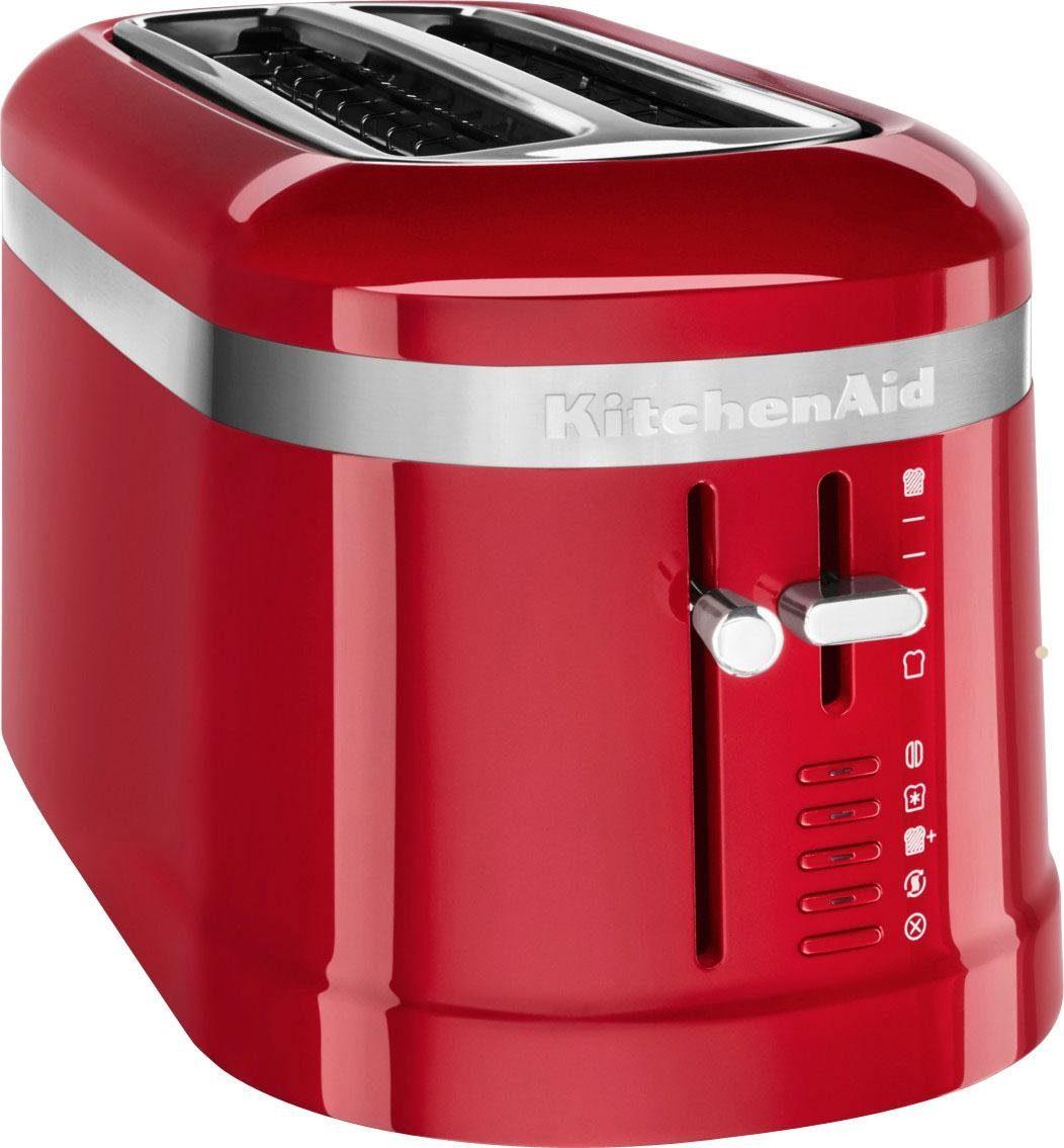 KitchenAid Toaster 5KMT5115EER, 2 lange Schlitze, für 4 Scheiben, 1600 W, Design 4-Scheiben Langschlitz-Toaster