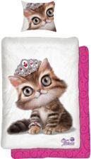 Kinderbettwäsche »Tiara Katze«, Tiaras Animal Club, mit Katzen Motiv