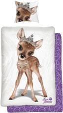 Kinderbettwäsche »Tiara Reh«, Tiaras Animal Club, mit Reh Motiv   Kinderzimmer > Textilien für Kinder > Kinderbettwäsche   Baumwolle   OTTO
