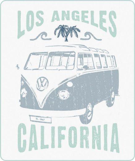 Wohndecke »California«, Volkswagen, Vintage Bulli Motiv