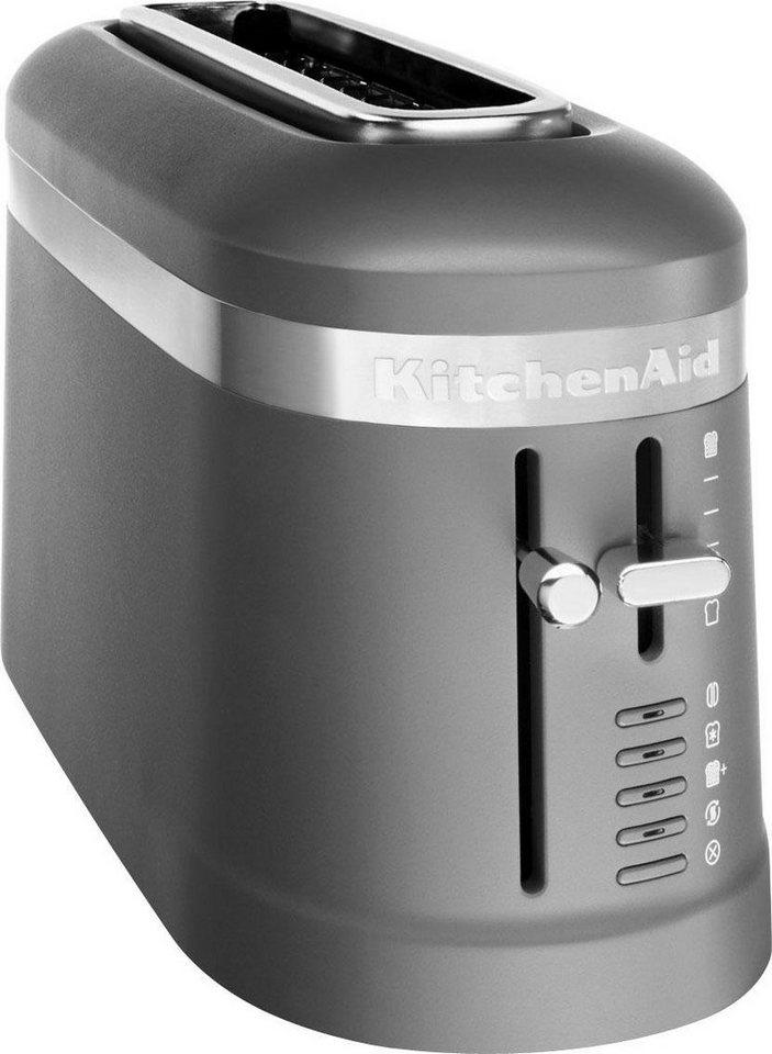 kitchenaid toaster 5kmt3115edg 1 langer schlitz f r 2. Black Bedroom Furniture Sets. Home Design Ideas